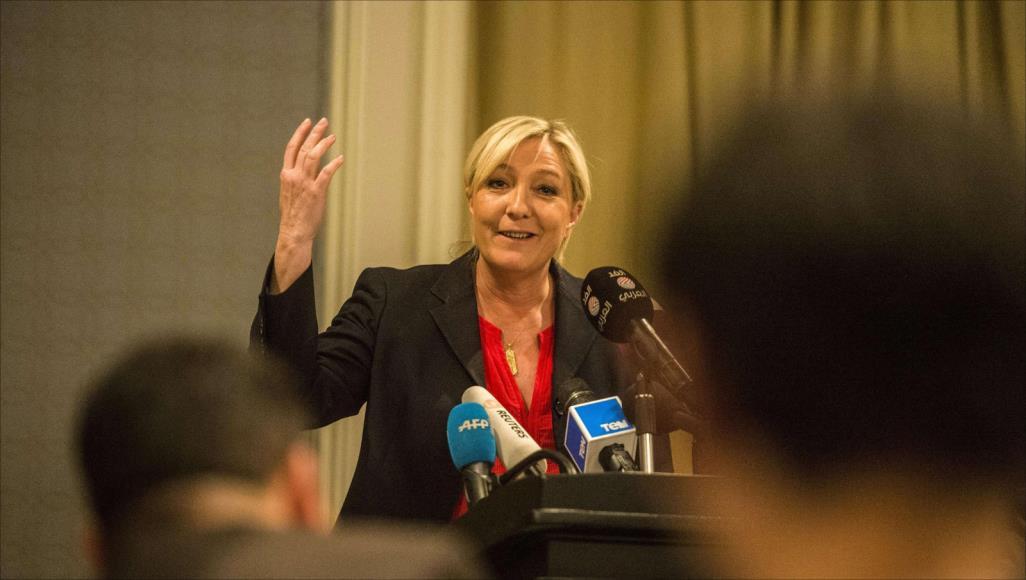 خطاب لوبان تجاه المتطرفين حقق زخما سياسيا كبيرا فى فرنسا