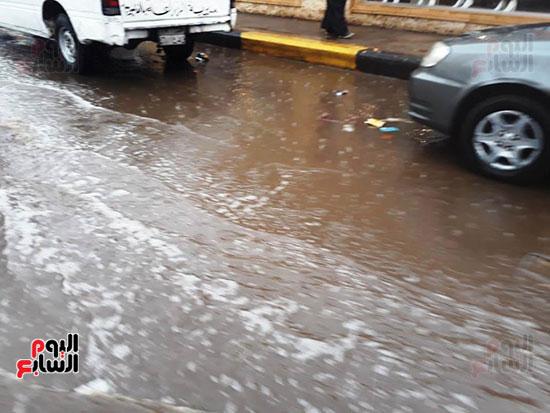 سقوط-امطار-غزيرة-على-مدن-محافظة-القليوبية--(3)