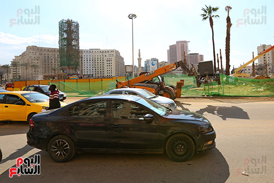 ميدان التحرير خطوة على الافتتاح (2)