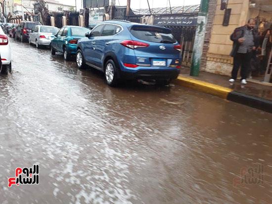 سقوط-امطار-غزيرة-على-مدن-محافظة-القليوبية--(5)