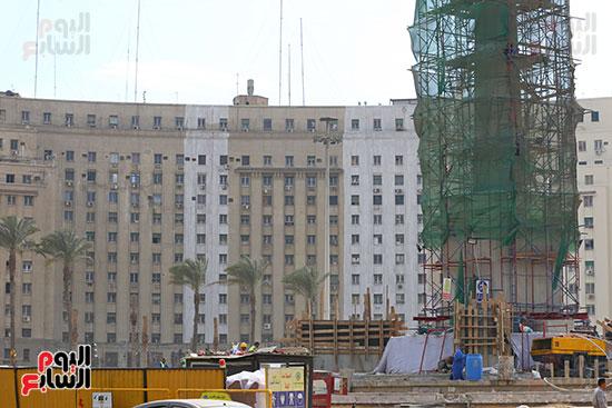 ميدان التحرير خطوة على الافتتاح (29)