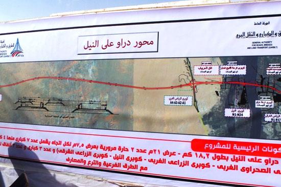 جولة داخل مشروعات محاور النيل الجديدة بأسوان (4)