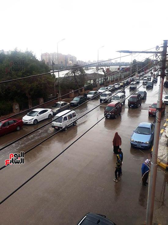 سقوط-امطار-غزيرة-على-مدن-محافظة-القليوبية--(6)