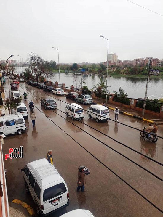 سقوط-امطار-غزيرة-على-مدن-محافظة-القليوبية--(1)