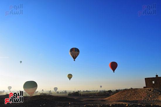 تحليق-10-رحلات-بالون-علي-متنها-210-سائح-من-حول-العالم-في-سماء-مدينة-الأقصر-(5)