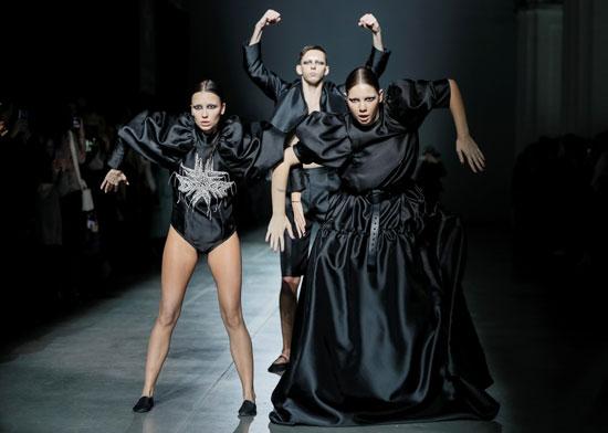 عرض أزياء فى أوكرانيا