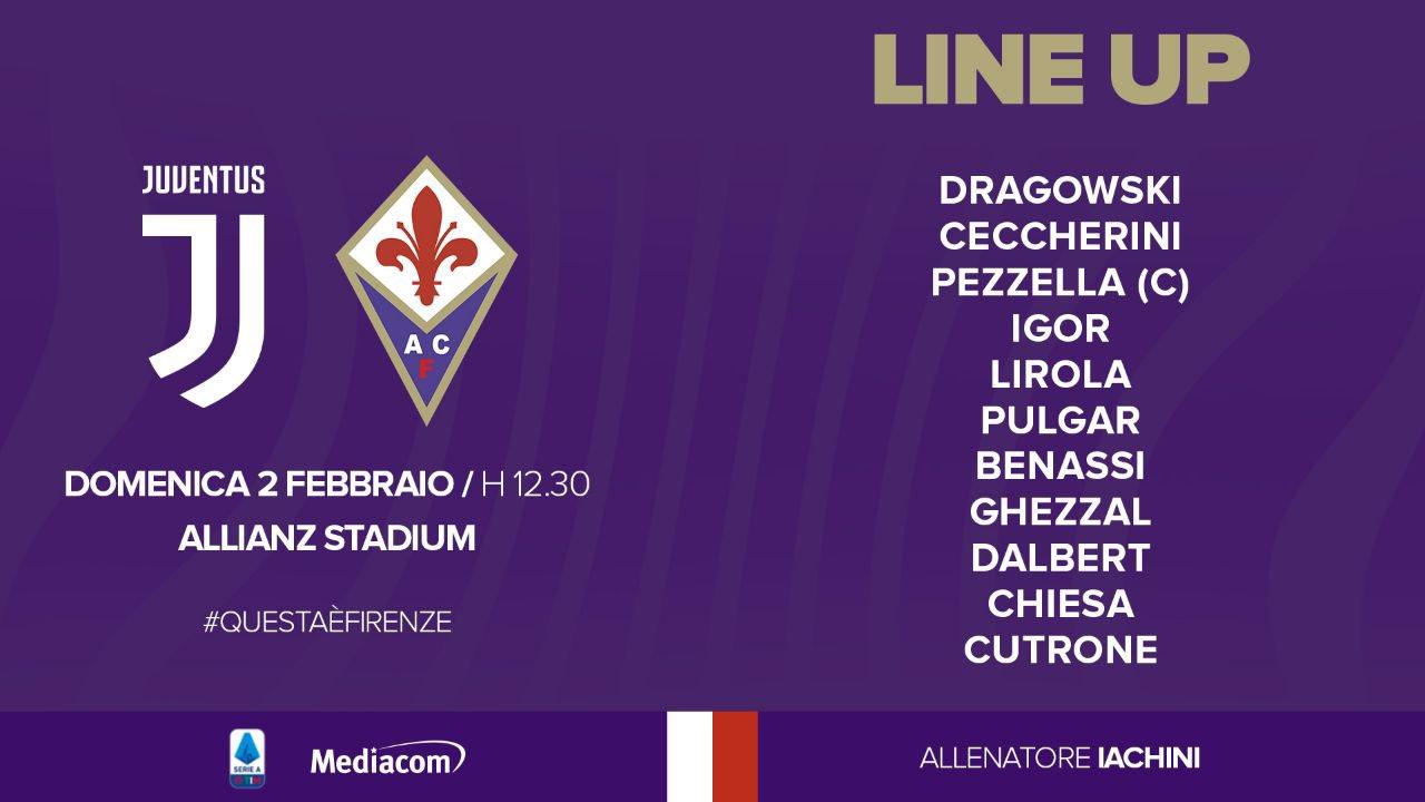 Formation of Fiorentina
