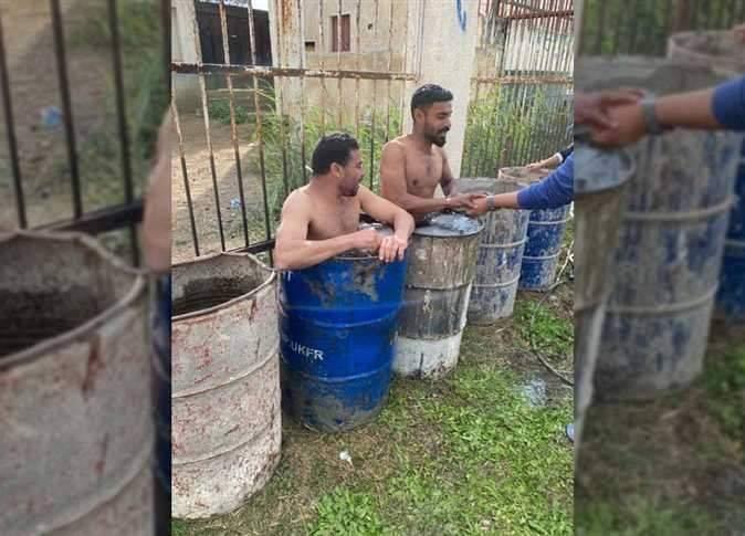 لاعبو فريق قرية شباس عمير