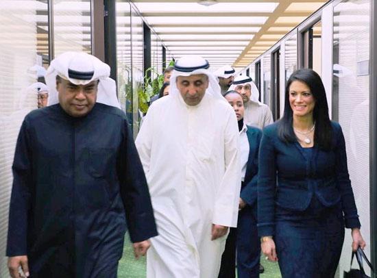لقاء وزيرة التعاون الدولى ومدير عام الصندوق الكويتي للتنمية الاقتصادية العربية (4)
