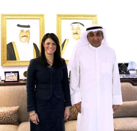 لقاء وزيرة التعاون الدولى ومدير عام الصندوق الكويتي للتنمية الاقتصادية العربية (1)
