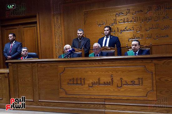 الحكم على المتهمين فى قضية السفارة الامريكية  (1)