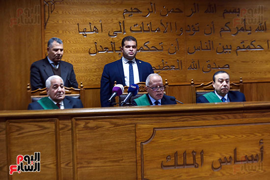 الحكم على المتهمين فى قضية السفارة الامريكية  (5)