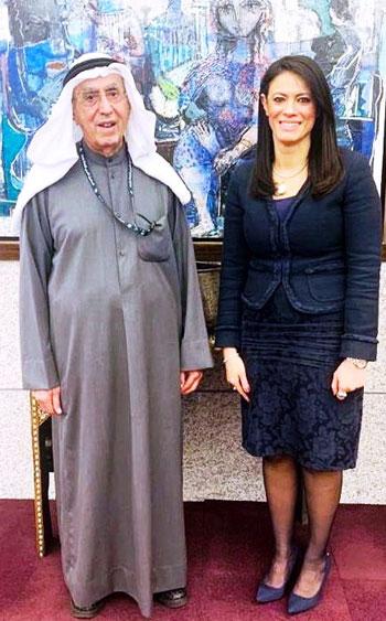 لقاء وزيرة التعاون الدولى ومدير عام الصندوق الكويتي للتنمية الاقتصادية العربية (5)