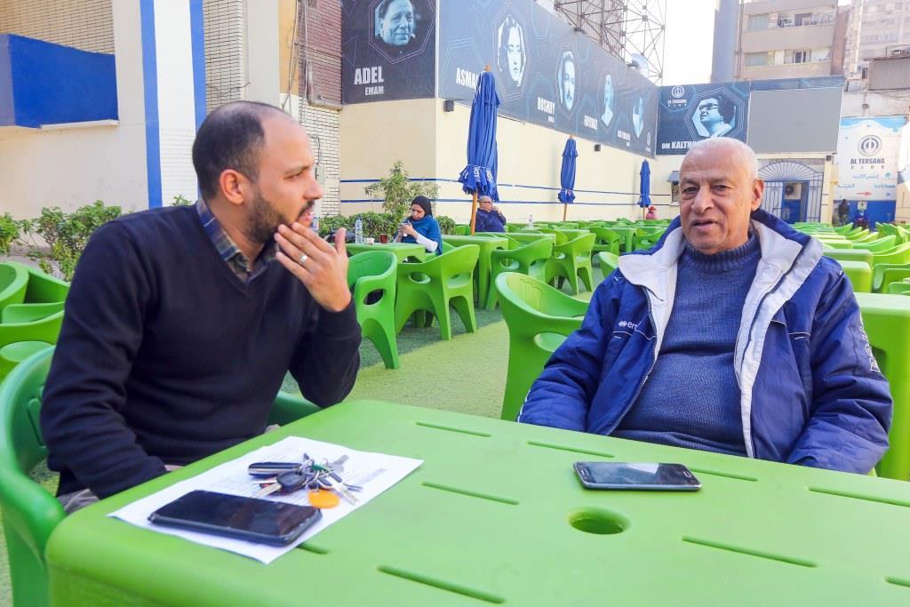 مصطفى رياض مع أحمد عصام