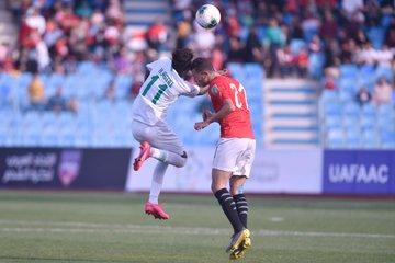 منتخب مصر للشباب يتعادل مع السعودية 22 فى كأس العرب (4)