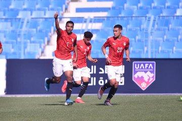 منتخب مصر للشباب يتعادل مع السعودية 22 فى كأس العرب (3)