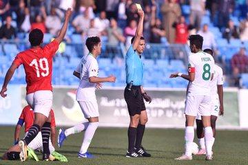 منتخب مصر للشباب يتعادل مع السعودية 22 فى كأس العرب (2)