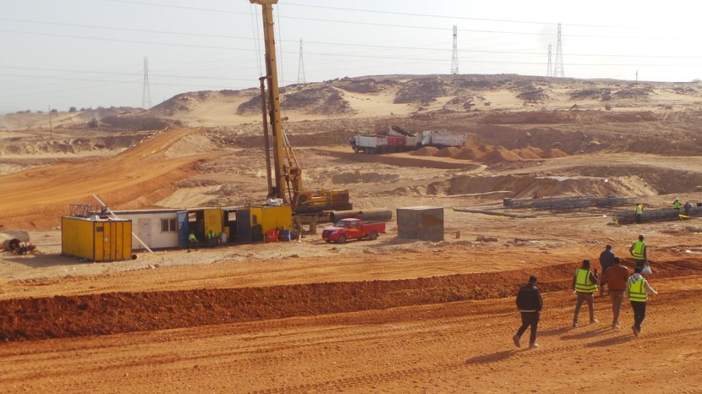 مشروع محور بديل خزان أسوان (3)