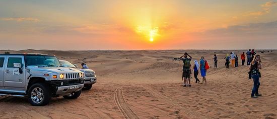 رحلات داخل الصحراء