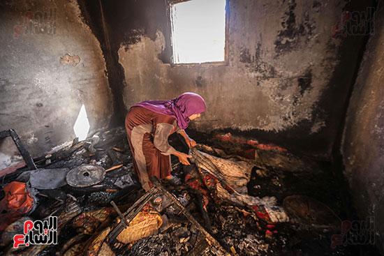 حرائق منازل الحامول (14)