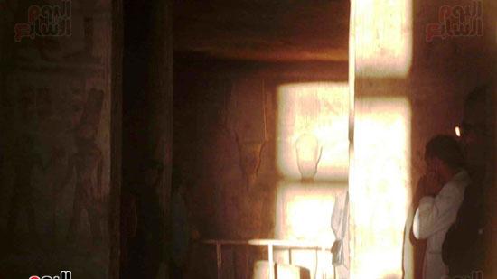 تعامد الشمس على معبد ابو سمبل (2)