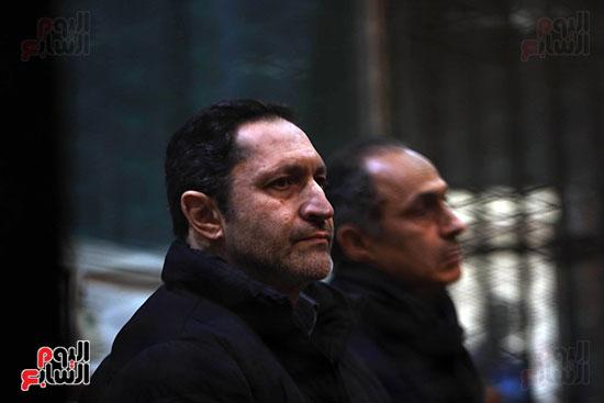 علاء وجمال مبارك فى المحكمة