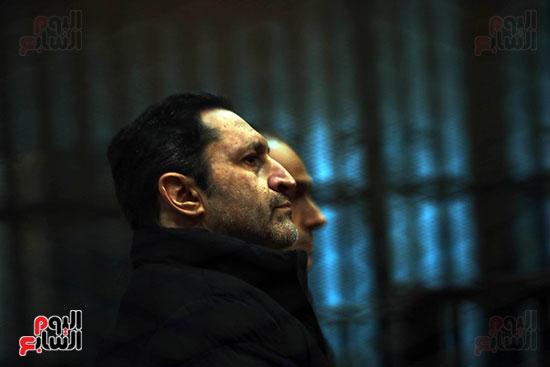 علاء مبارك لحظة سماع الحكم