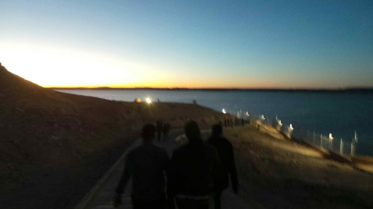 توافد السائحين على معبد أبوسمبل (3)
