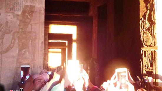 تعامد الشمس على المعبد