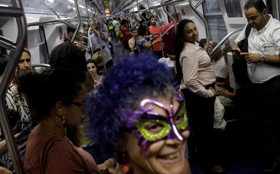 احتفالات المهرجان فى البرازيل
