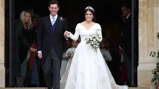 حفل زفاف الأميرة يوجينى