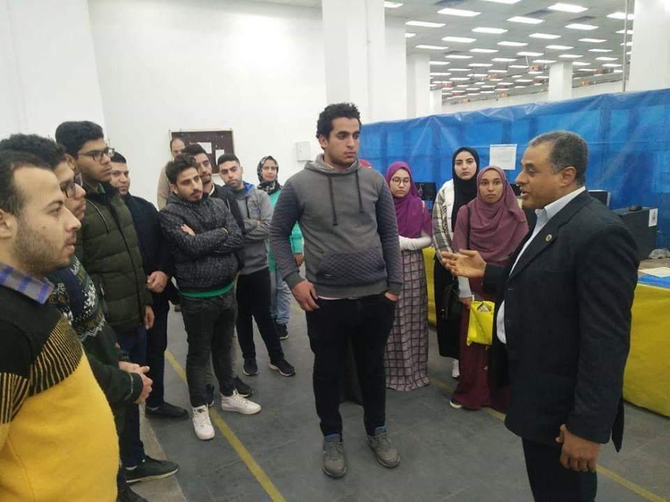 مشاركة طلاب جامعة كفر الشيخ بمهرجان كرة السرعة  (4)