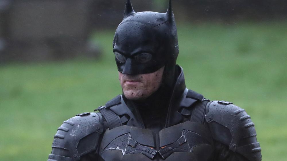 روبرت باتينسون في كواليس تصوير باتمان