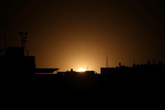 العنف على غزة