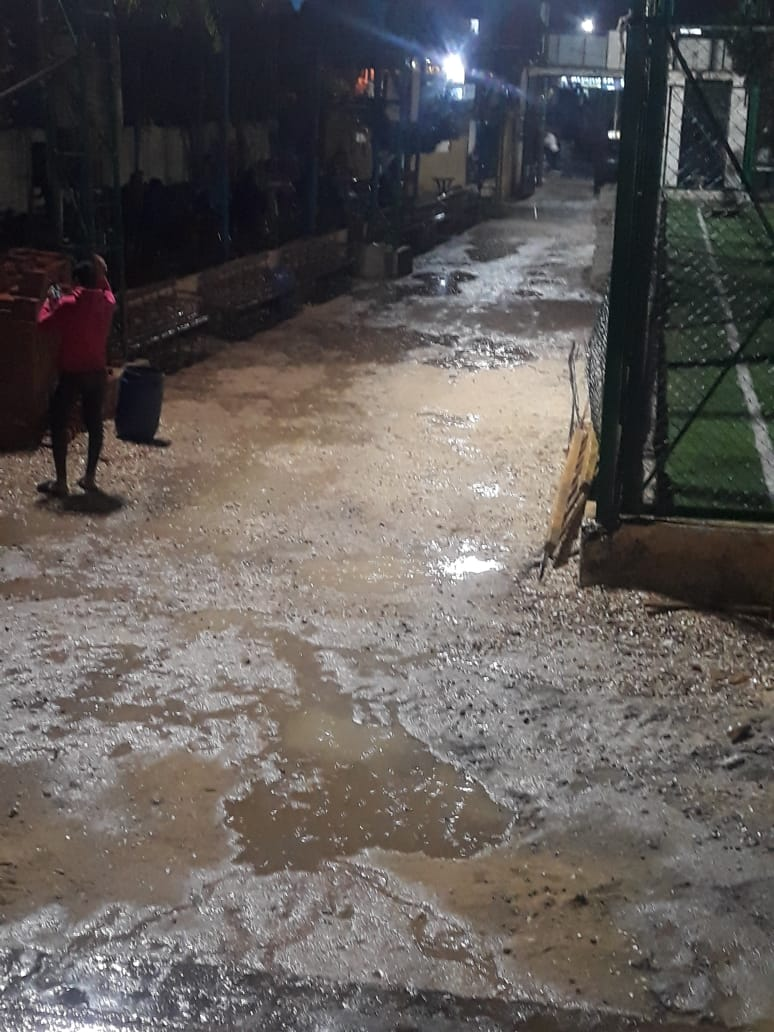 الأمطار الغزيرة تضرب مدينة قليوب وشبين القناطر (3)