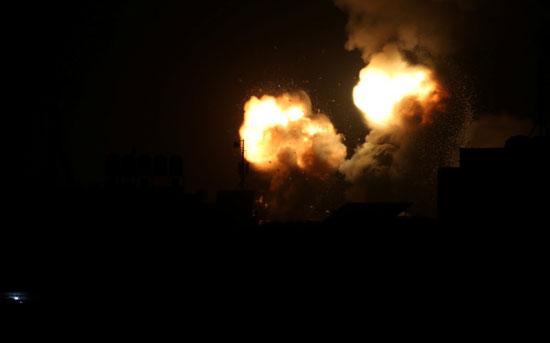 غارات الاحتلال على قطاع غزة
