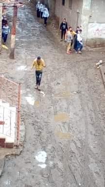 غرق شوارع القليوبية بمياه الأمطار (9)