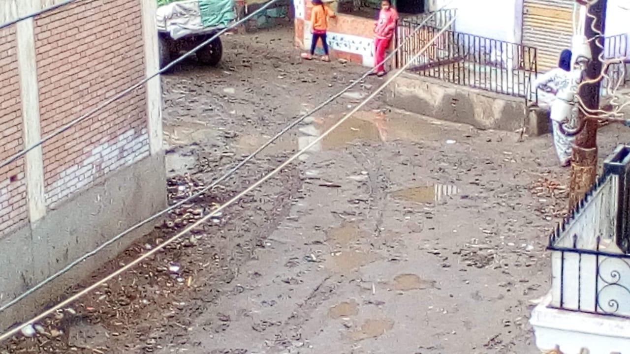 غرق شوارع القليوبية بمياه الأمطار (13)
