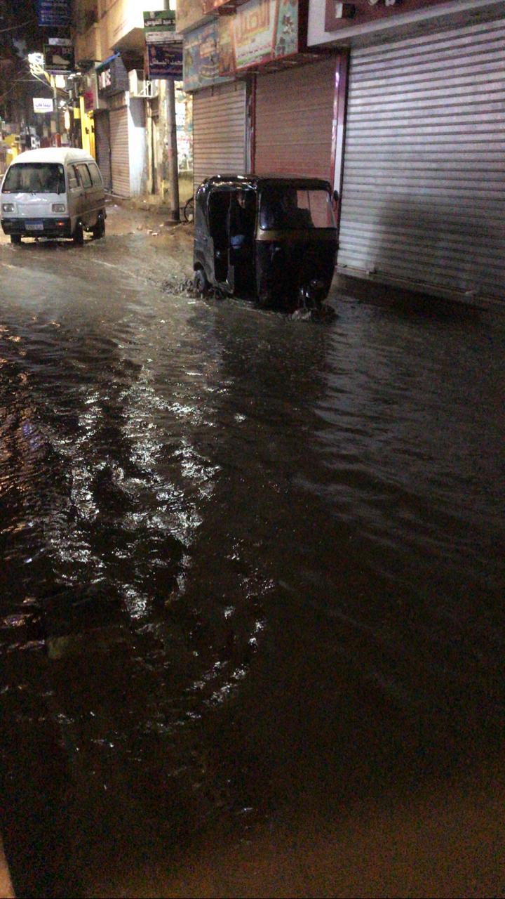 الأمطار الغزيرة تضرب مدينة قليوب وشبين القناطر (11)