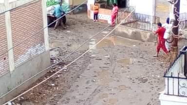 غرق شوارع القليوبية بمياه الأمطار (7)