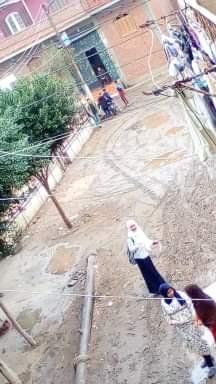 غرق شوارع القليوبية بمياه الأمطار (8)