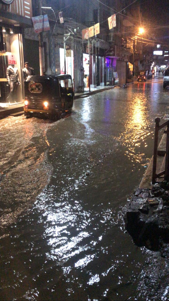 الأمطار الغزيرة تضرب مدينة قليوب وشبين القناطر (9)