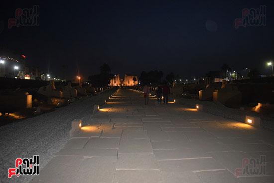 إحياء-طريق-الكباش-الفرعونى-العالمى-يحصل-على-4-خطوات-مميزة-(8)