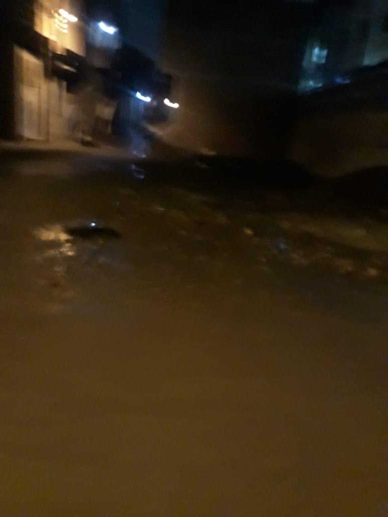 الأمطار الغزيرة تضرب مدينة قليوب وشبين القناطر (7)