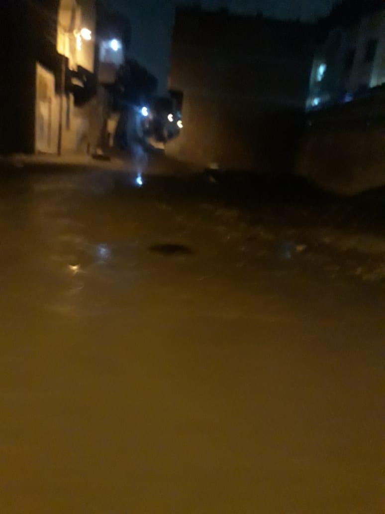 الأمطار الغزيرة تضرب مدينة قليوب وشبين القناطر (4)