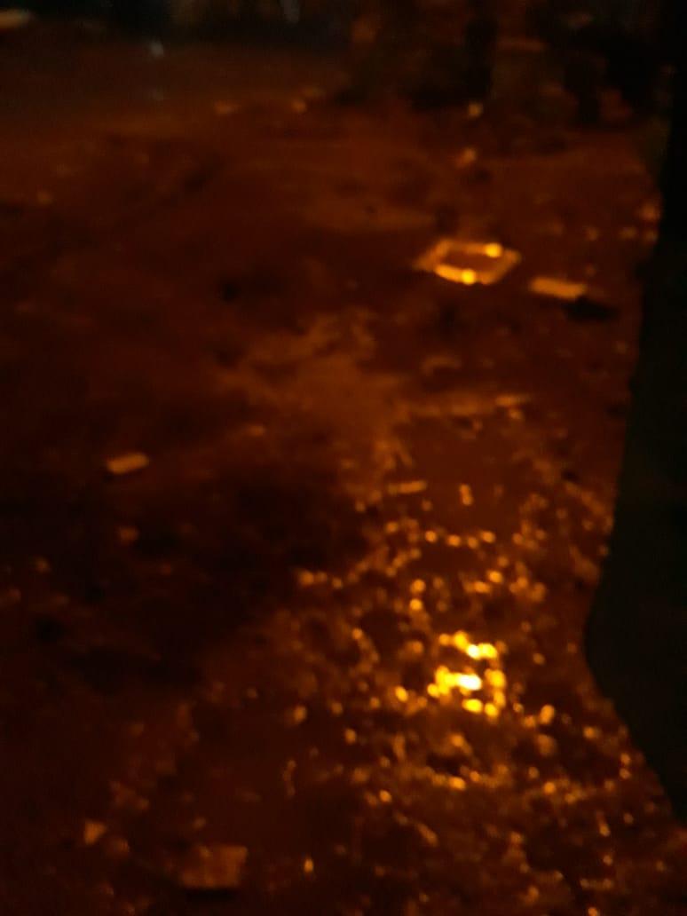 الأمطار الغزيرة تضرب مدينة قليوب وشبين القناطر (6)