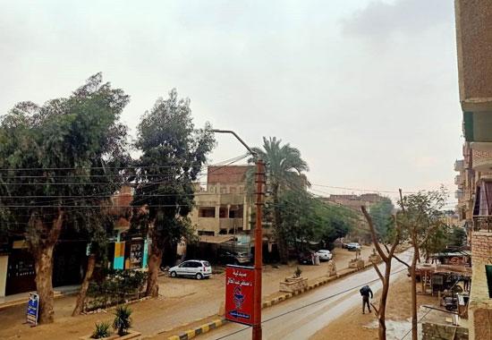 سقوط-أمطار-متوسطة-وطقس-بارد-على-محافظة-بنى-سويف-(2)