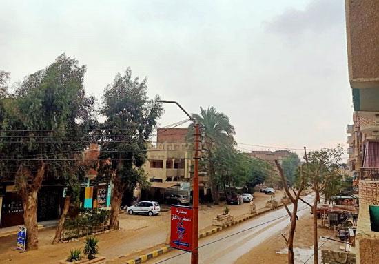 سقوط-أمطار-متوسطة-وطقس-بارد-على-محافظة-بنى-سويف-(4)