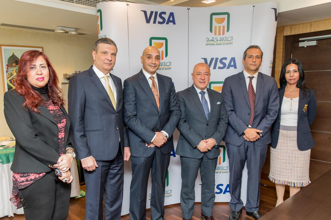 البنك الأهلي المصري وفيزا العالمية يجددان شراكتهما