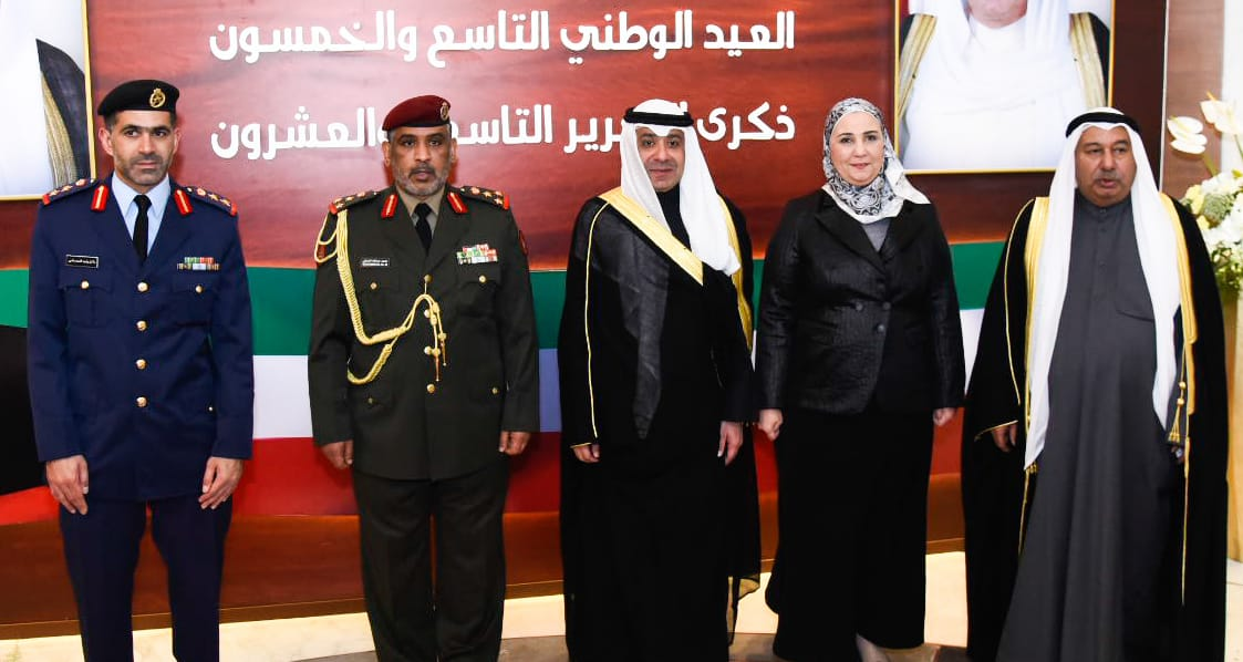 وزيرة التضامن خلال احتفال سفارة دولة الكويت بالقاهرة (4)